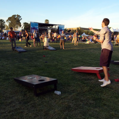 Playing beer games with Deschutes Brewery at MMMF