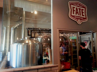 Fate Brewing tour